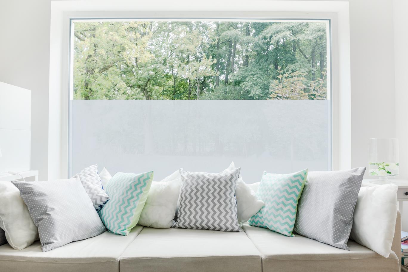 Pellicola adesiva per decorazione vetri opacizzante basic for Pellicola adesiva per vetri ikea