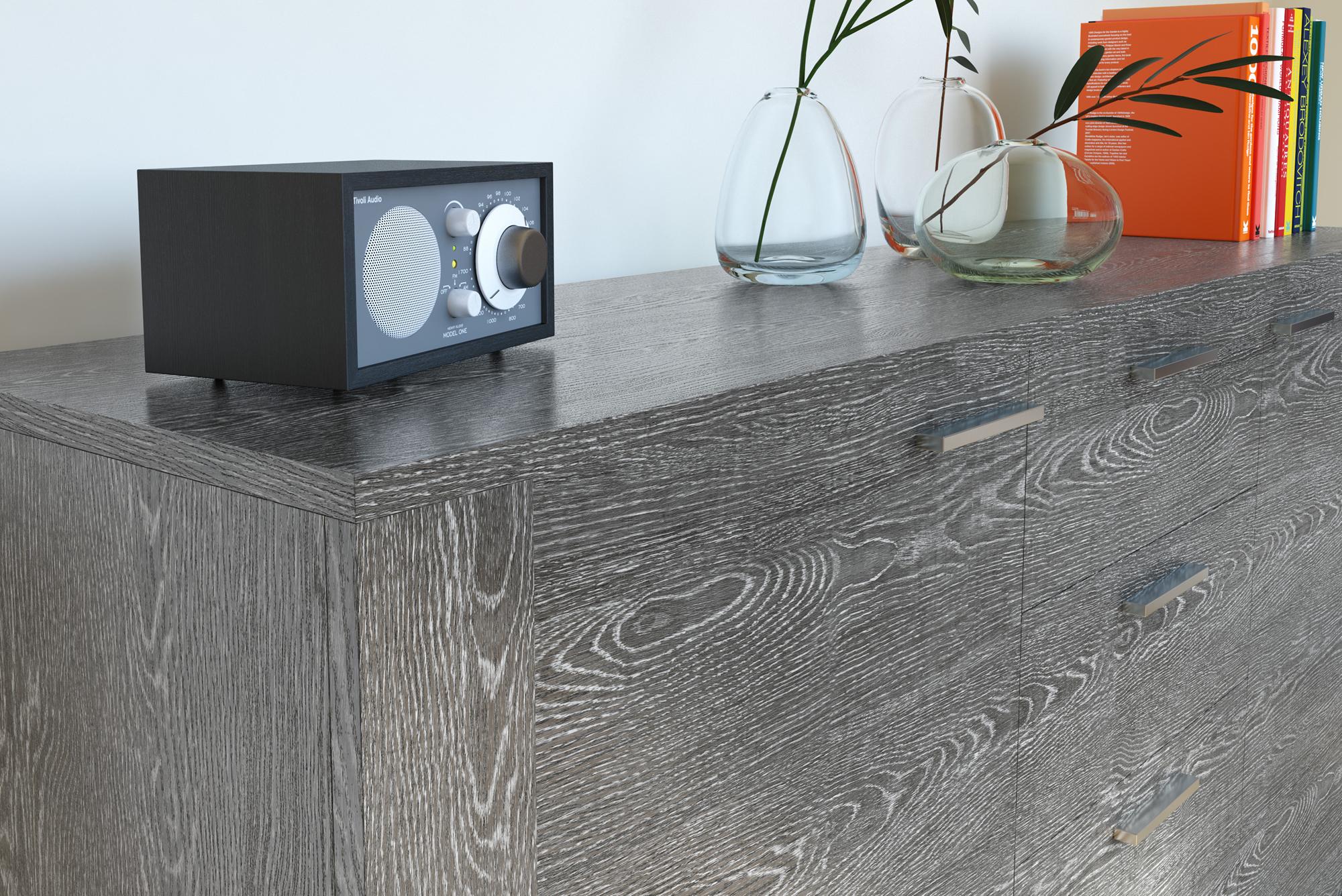 Pellicola adesiva rovere grigio scuro larg 30 cm effetto for Pellicola adesiva effetto legno