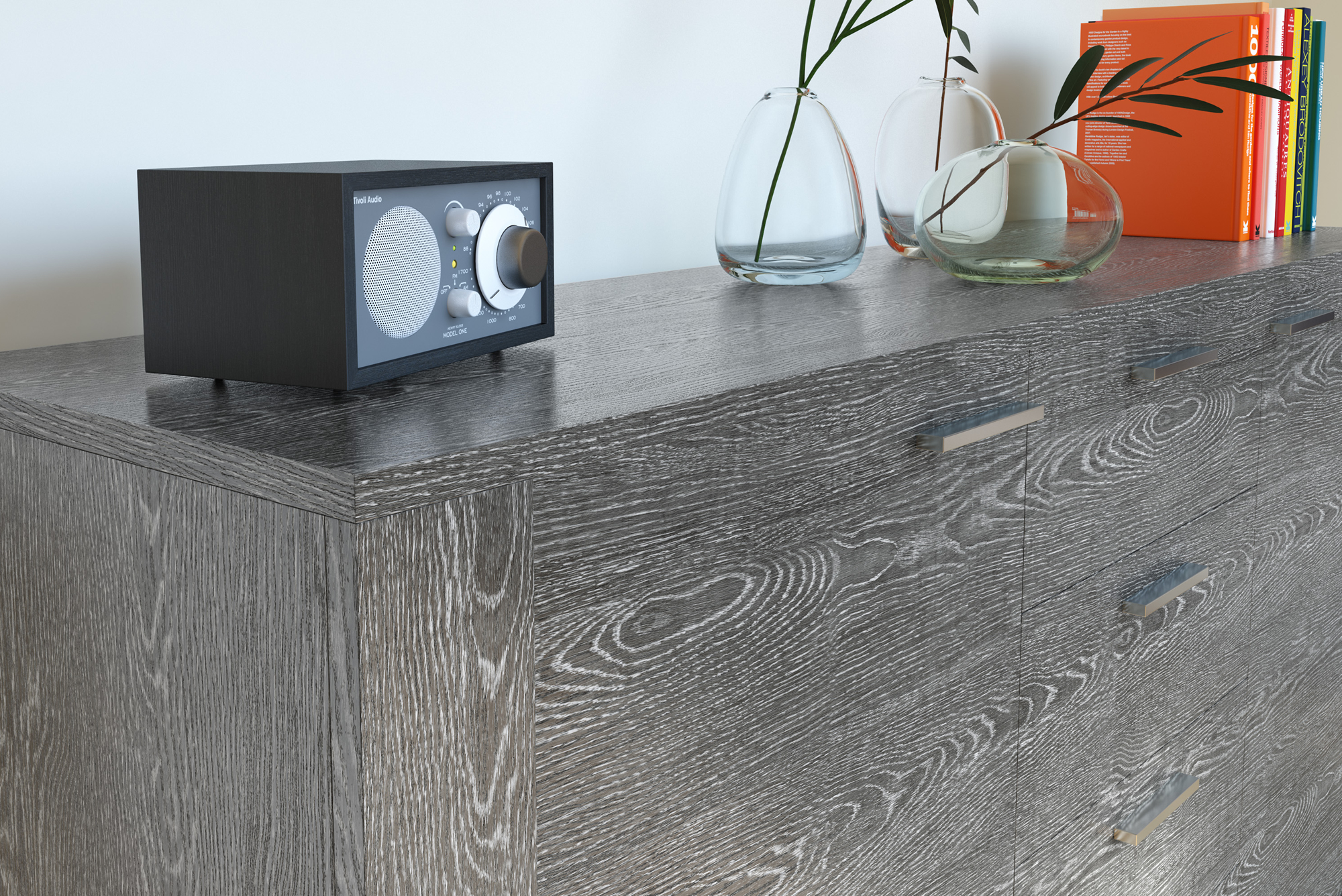 Pellicola adesiva rovere grigio scuro larg 30 cm effetto for Pellicola adesiva mobili