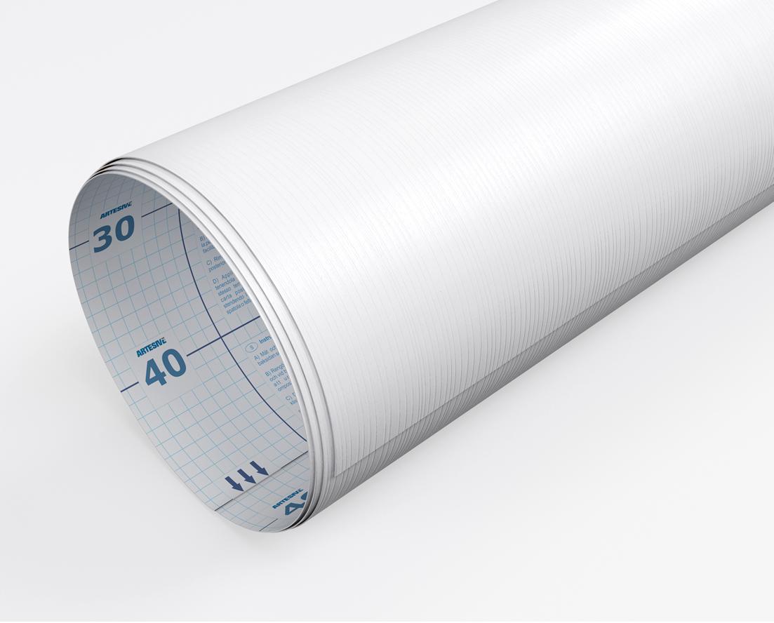 Pellicola adesiva legno bianco larg 60 cm al metro for Pellicola adesiva effetto legno