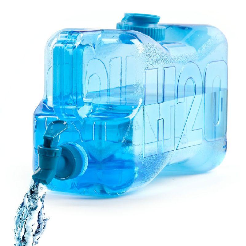 Dispenser Canestro Per Acqua Da Frigo O Ufficio Con Rubinetto Plastica Eco