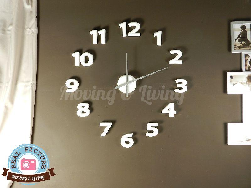 Orologi da parete grandi for Orologi da parete adesivi