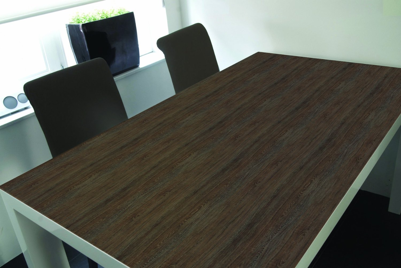 Pellicola adesiva frassino scuro 90 cm in vinile effetto for Pellicola adesiva effetto legno