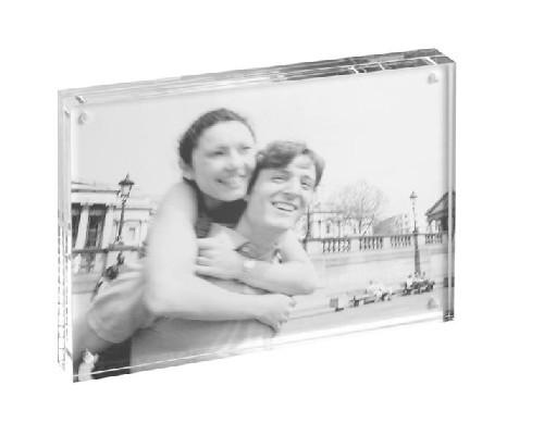 Portafoto cornice singola candy 10x15 da tavolo in - Portafoto da tavolo plexiglass ...