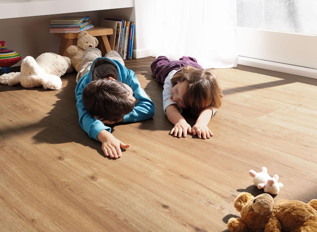 Vendita click design rovere naturale pavimento parquet - Piastrelle spessore 2 mm ...