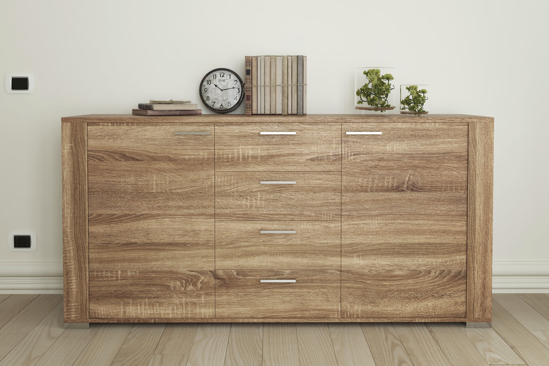 Vendita artesive wd 057 rovere scuro larg 30 cm al metro - Carta rivestimento mobili ...