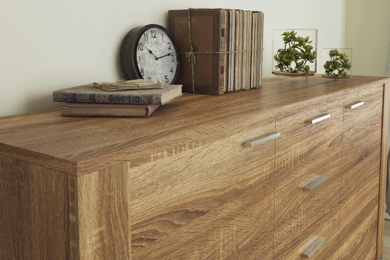 Vendita artesive wd 057 rovere scuro larg 30 cm al metro for Pellicola adesiva effetto legno