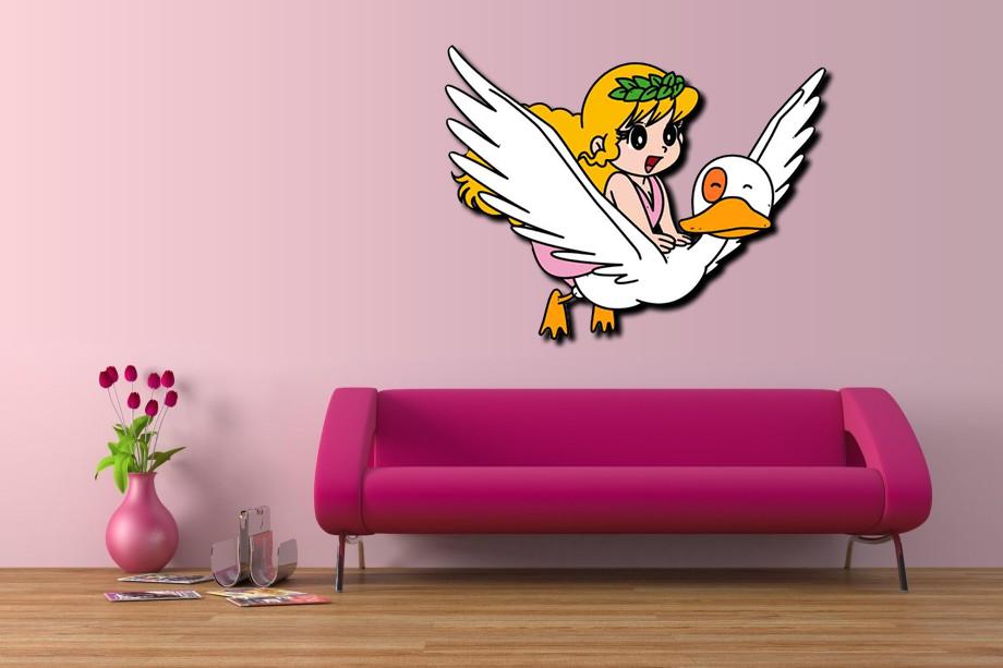 vendita sagoma pollon su oca 60x120cm per arredo interni su licenza per soli. Black Bedroom Furniture Sets. Home Design Ideas
