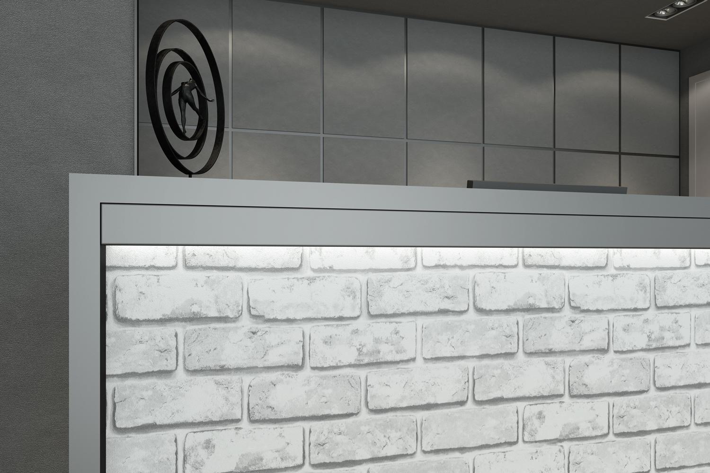 Vendita Artesive St 04 Mattoni Grigi Larg 100 Cm Al Metro Lineare