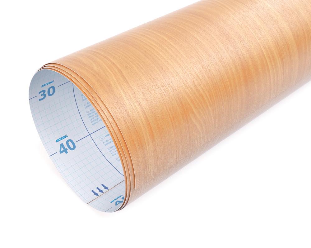 Vendita artesive wd 034 faggio chiaro larg 90 cm al metro for Brico adesivi pareti