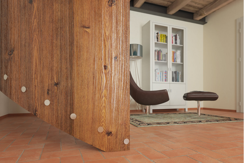 Vendita artesive wd 052 pino scuro doghe larg 90 cm al for Pellicola adesiva effetto legno