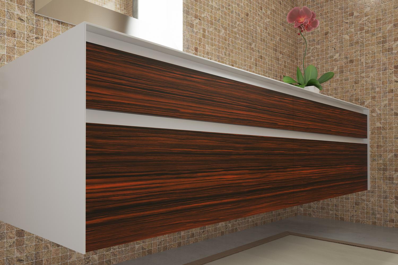 Vendita artesive wd 064 palissandro opaco larg 30 cm al for Pellicola adesiva effetto legno