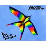 Aquilone Monofilo 170 x 105 cm Uccello Veleggiatore Bee-Kite Falcon